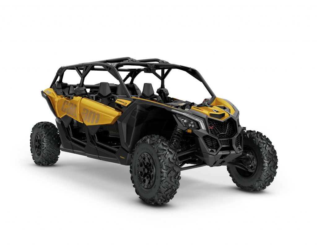 2017 Maverick X3 MAX X ds TURBO R Circuit yellow_3-4 front