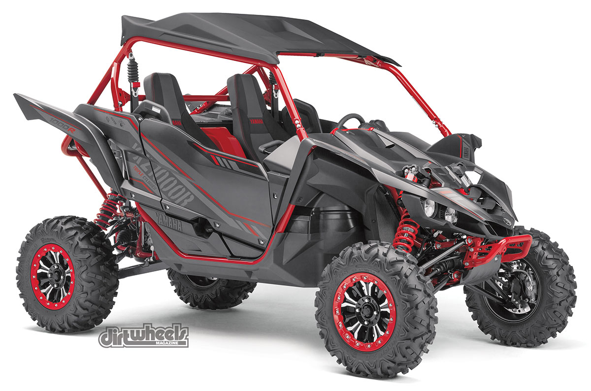 New models 2017 utv buyer 39 s guide dirt wheels magazine for Yamaha yxz gear reduction kit
