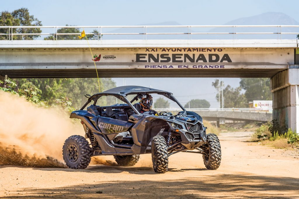 The power of the X3 is tremendous, and it makes for a lot of fun on any terrain!