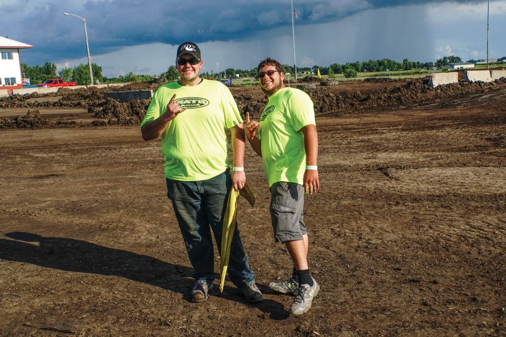 With a massive flood coming through the area, the Rath Racing track crew worked all through the week to get the track dry. Even with all of that work, Matt Garrel and Alex Grundahl still had a blast!