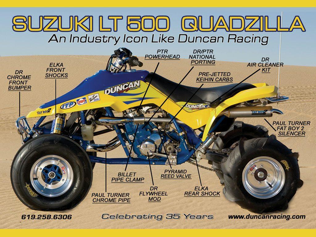 Suzuki Ltr Quadzilla Parts