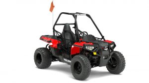 Polaris' new Ace 150 EFI is the first single seat machine machine aimed at the youth market.