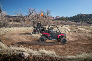 As you would expect in a youth model, the Ace 150 EFI has a host of safety features.