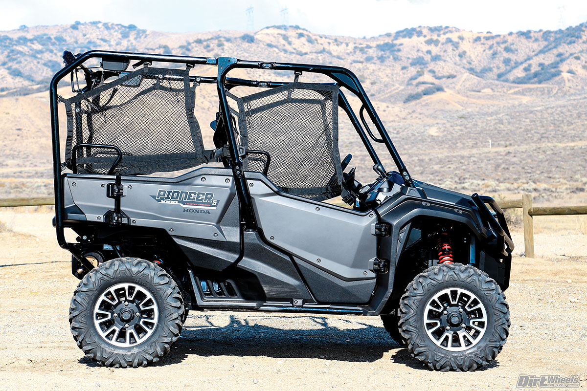 first ride honda pioneer 1000 5 limited edition dirt wheels magazine. Black Bedroom Furniture Sets. Home Design Ideas