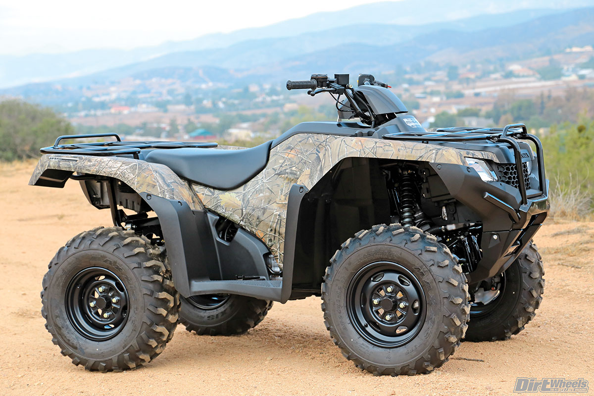 Atv Test Honda Rancher 4x4 Auto Dct Irs Eps Dirt Wheels