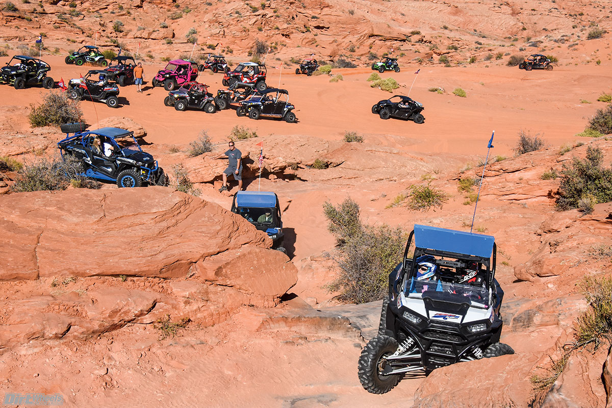 Rides are limited in number, and only registered riders can participate during the SxS Adventure Rally. For best results, pre-register for the rides that you want to do.