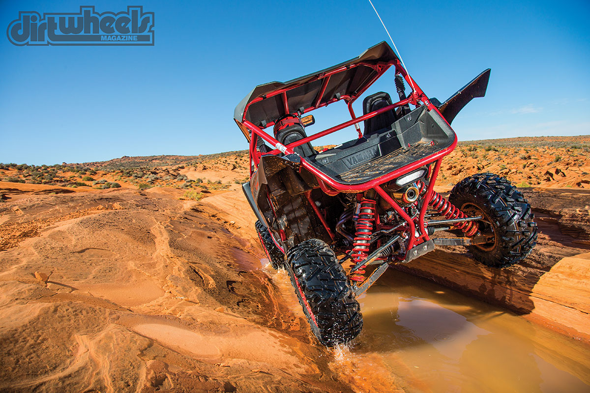 We're very impressed with the YXZ1000R Special Editions. They tamed the rough terrain of southern Utah with ease. The Fox X2 suspension is very easy to tune. Whether you're an average Joe or an avid racer, you will love this UTV.