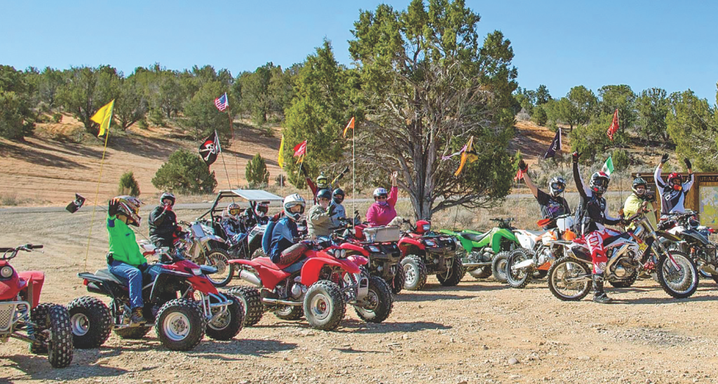 group lets ride