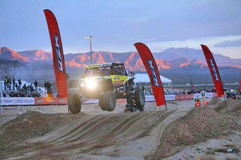 Mitch Guthrie Jr. won the Pro Turbo UTV class at the famed Mint 400 desert race.