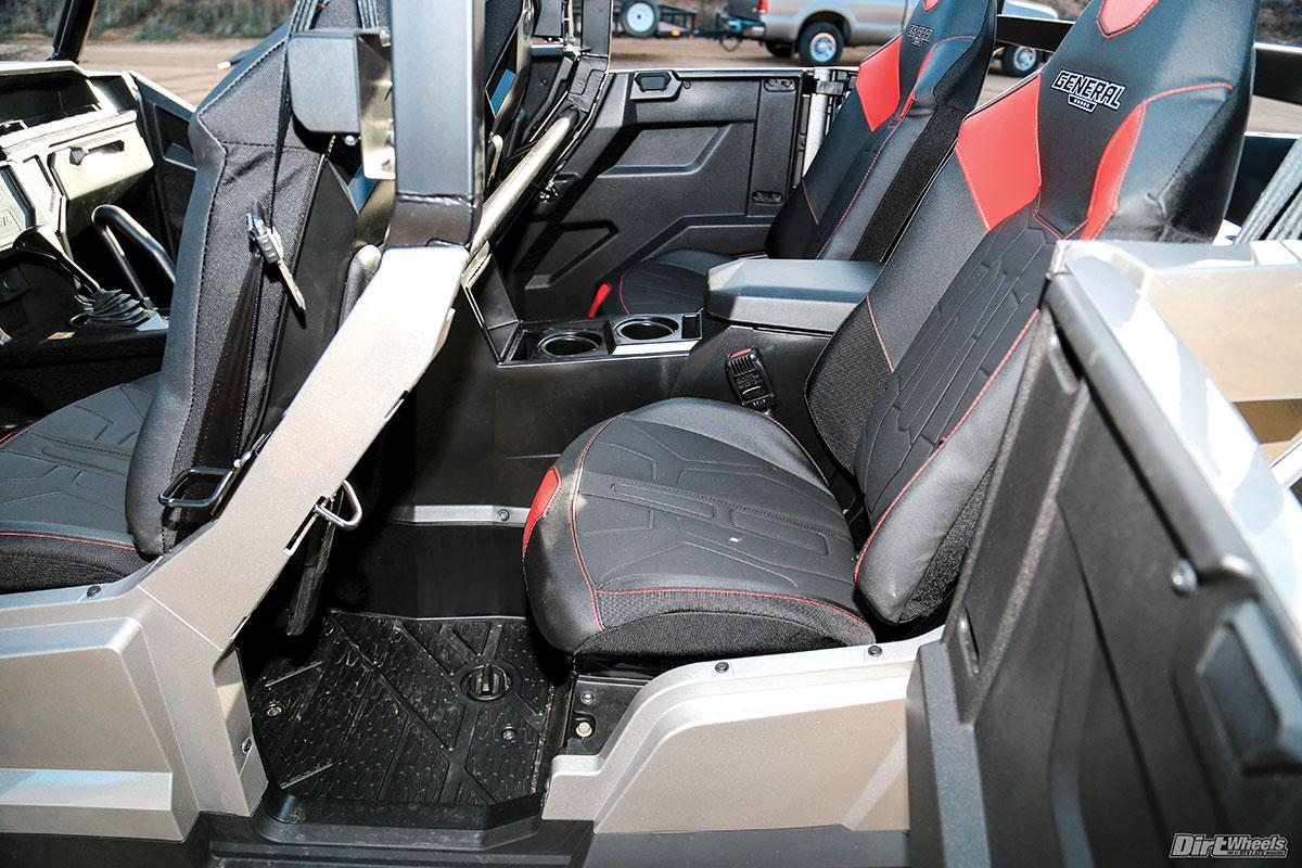 Black UTV Junior Seat Fits Stock and Aftermarket Seats