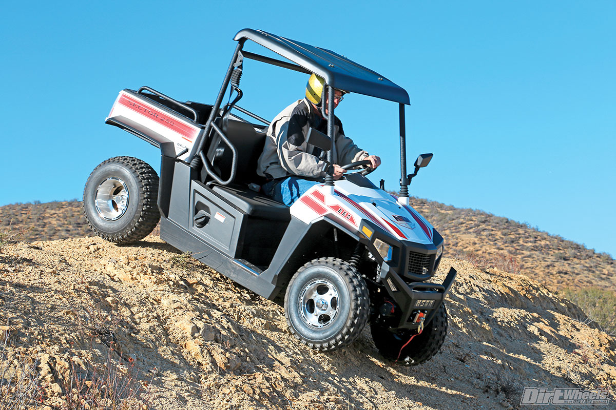 UTV TEST: 2017 HISUN SECTOR 250 | Dirt Wheels Magazine