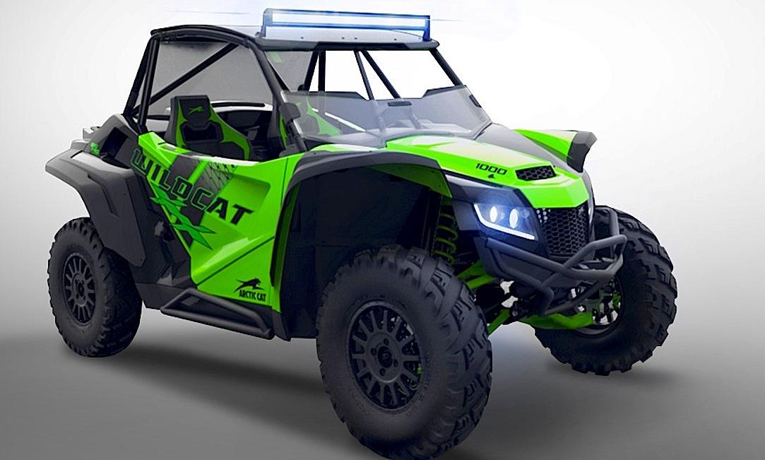 All New Wildcat Xx With 125 Hp Dirt Wheels Magazine