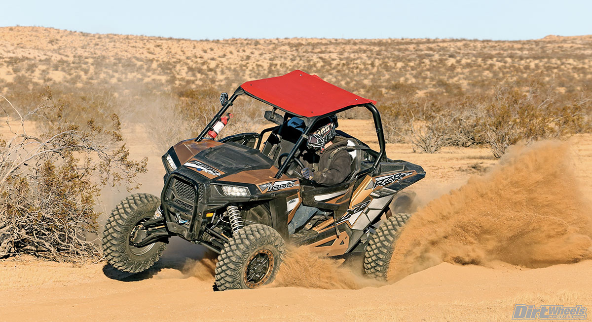 With the tall tires and supple suspension, this edition of the XP 1000 doesn't like being tossed into turns at speed.
