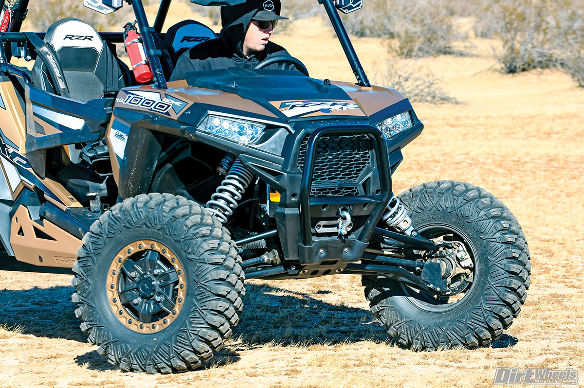 A standard winch, 55 percent lower gearing in low range and 30-inch tires all make this special edition a great rock crawler.