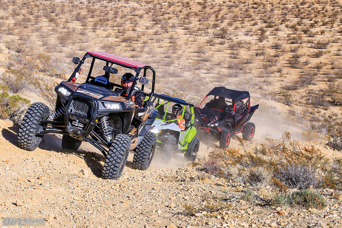 On paper this comparison looked like a great plan—three limited- or  special-edition 1000cc-class sport UTVs equipped with special equipment or  features ...