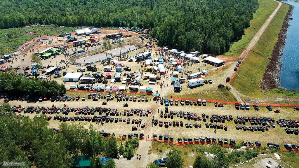 The Jericho ATV Festival in New Berlin, New Hampshire (August 4-5th) has up to 1,000 miles of trail!