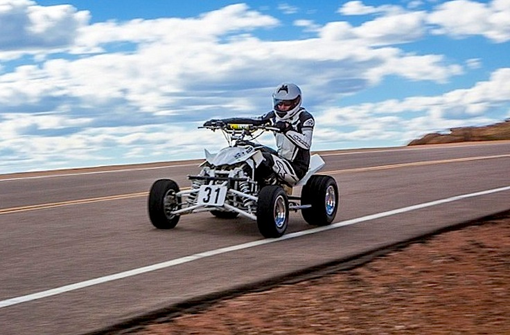 Race To The Top Of Pikes Peak