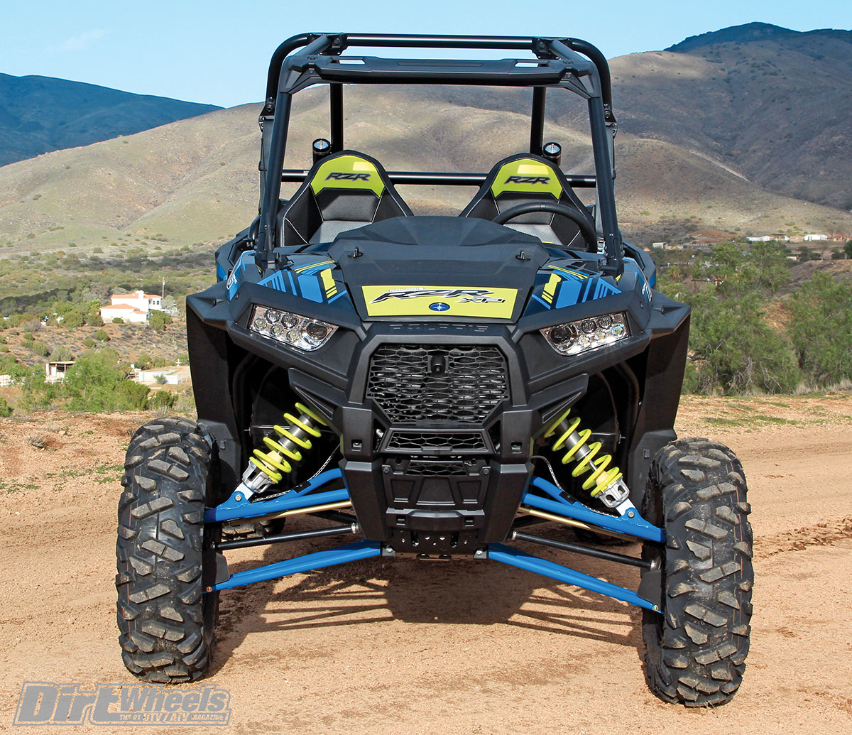utv test 2017 polaris rzr xp 1000 ride command dirt. Black Bedroom Furniture Sets. Home Design Ideas