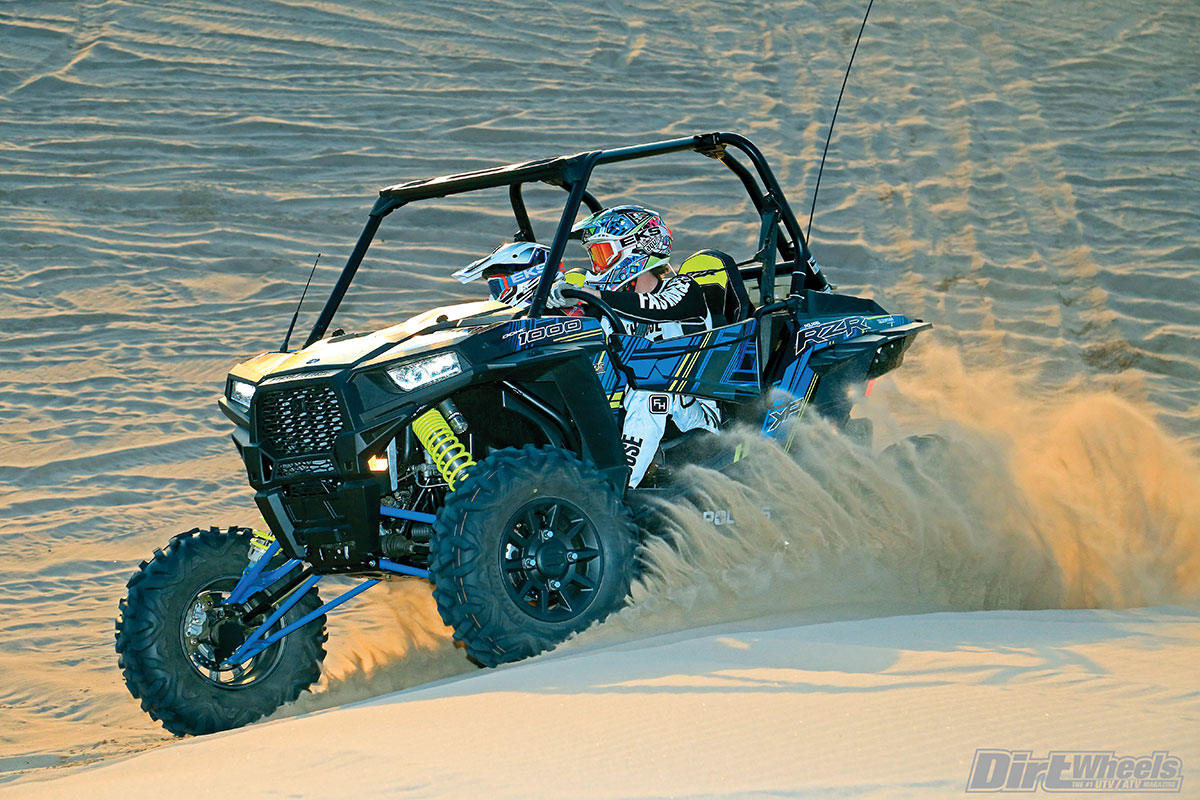 We hope that Polaris will eventually put half doors on their sport performance lineup as a stock feature, but until then, you can get door inserts to fill the gap.