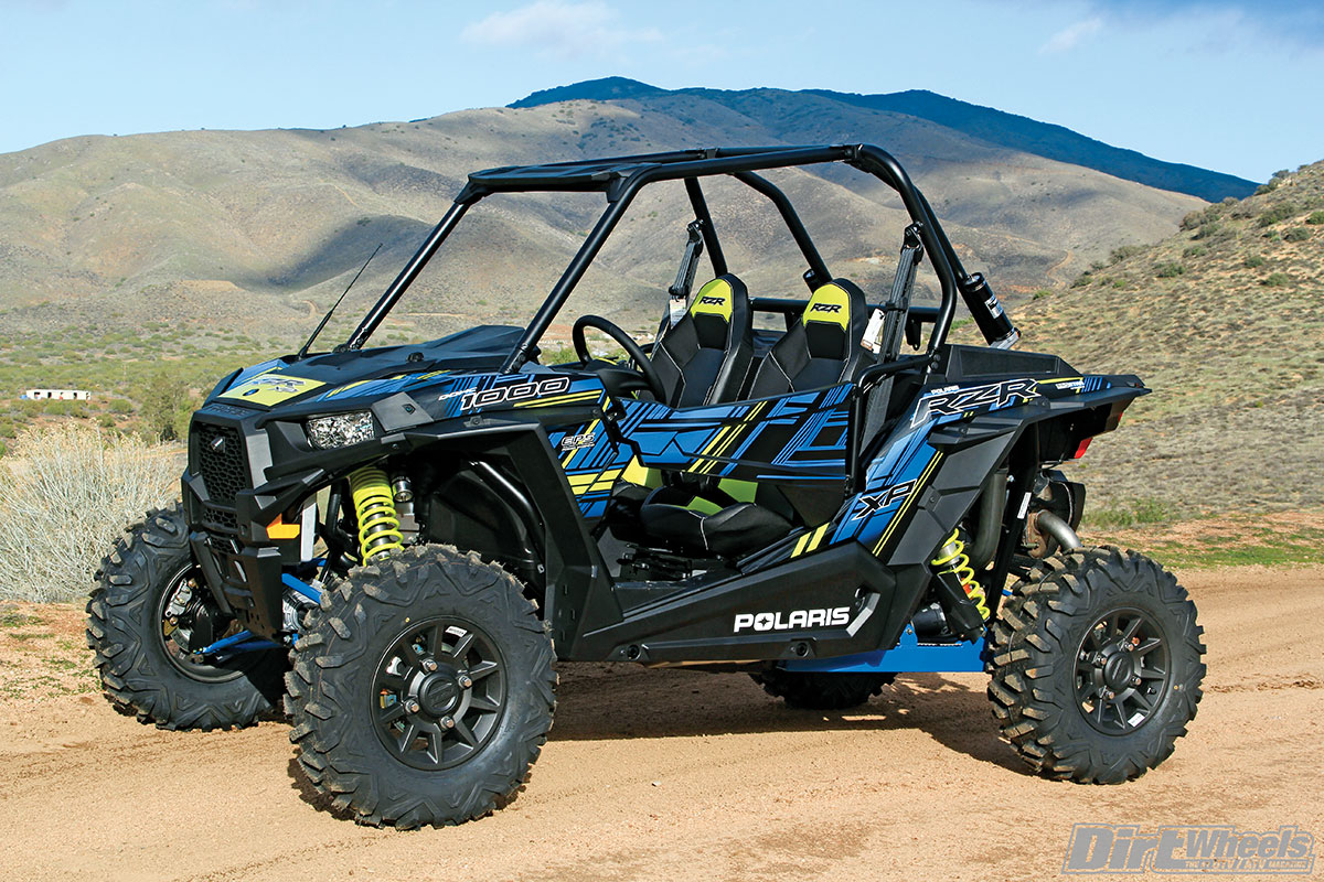 Polaris utilizes Maxxis Big Horn 2.0 tires on this build that are 29 inches tall.