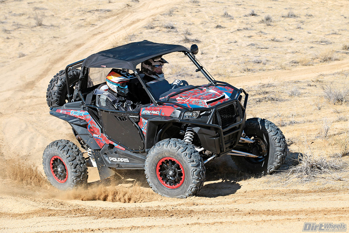 The Polaris RZR XP Turbo is already a fast machine, so we didn't feel the need to make it any faster for this trail build.