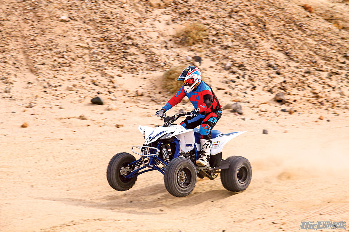 The best thing about the Duncan Racing performance mods that were added to the YFZ-R is that it gave us more confidence in our riding and in the machine over rough terrain.