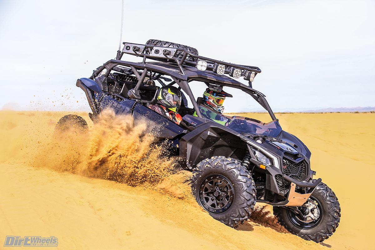 FIRST TEST: CAN-AM MAVERICK X3 MAX X DS | Dirt Wheels Magazine