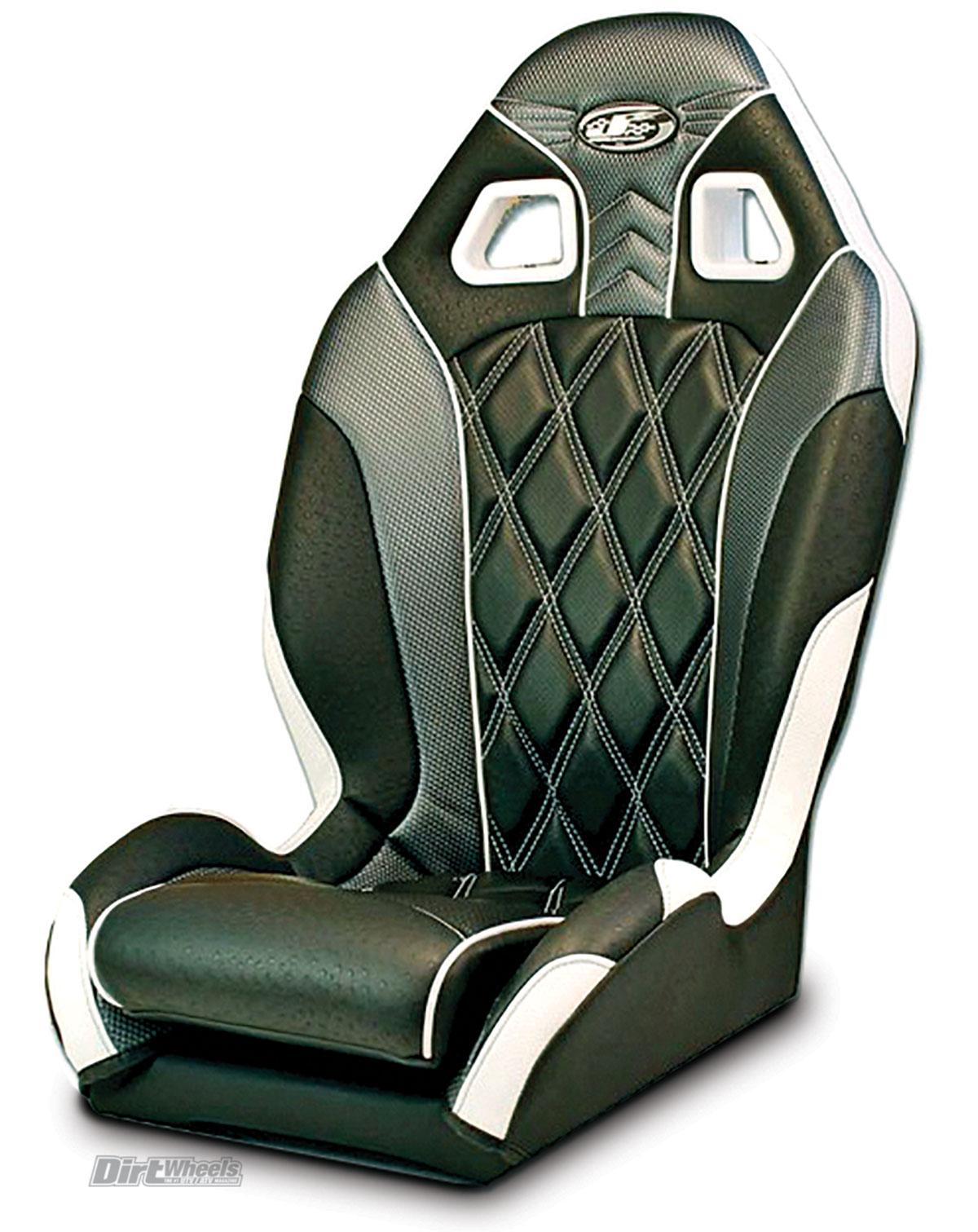 Polaris RZR Suspension Seats , Black Bucket Seats With 4 Point Harnesses