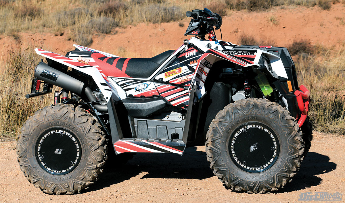 Teixeira Tech spared no expense on this Scrambler XP 1000. It looks fast just sitting there!