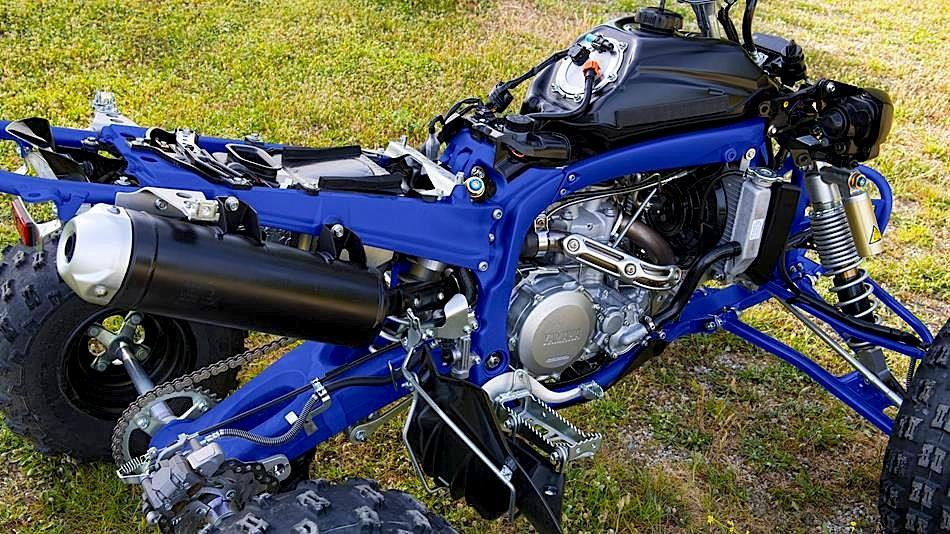 Yamaha Grizzly Engine Break