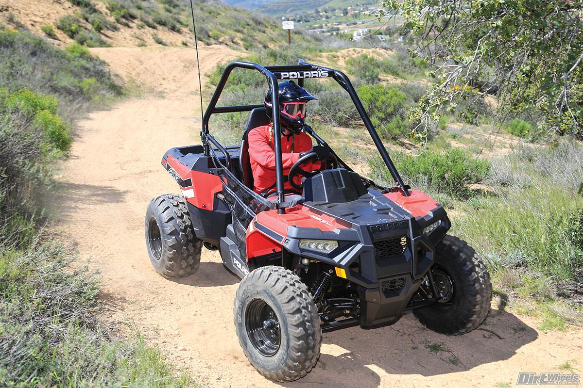 Utv Test 2017 Polaris Ace 150 Dirt Wheels Magazine