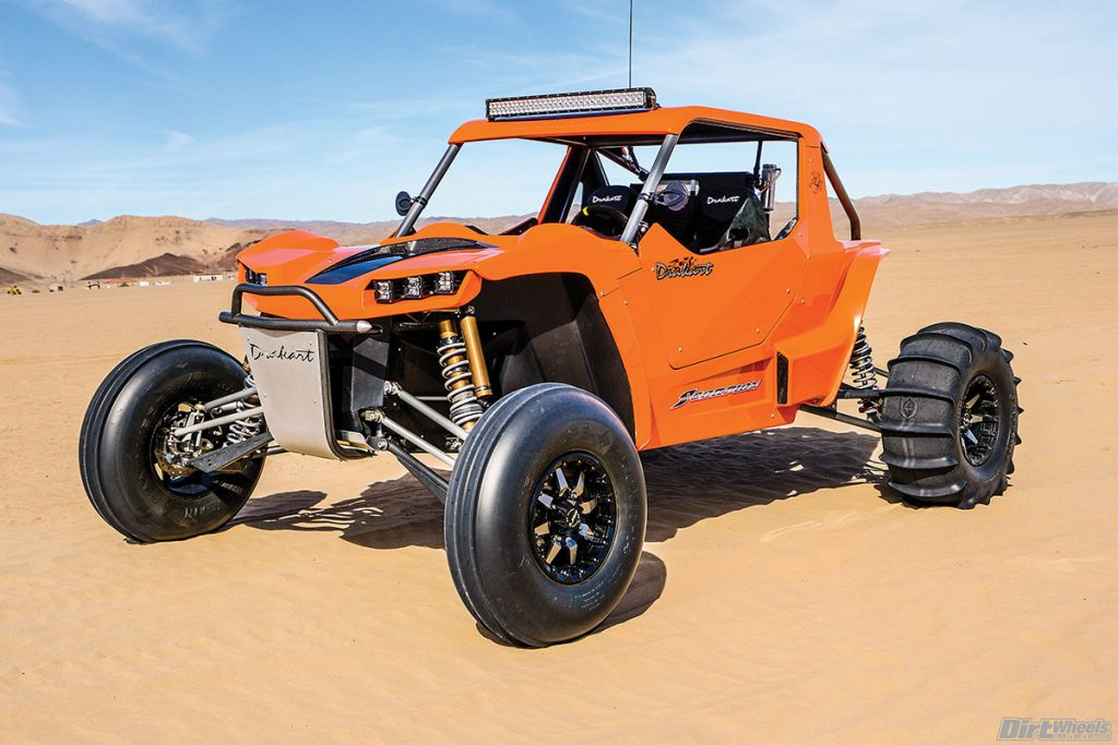 With the high level of finish, extreme track width and low profile, the Drakart is a real head-turner in any group of UTVs.