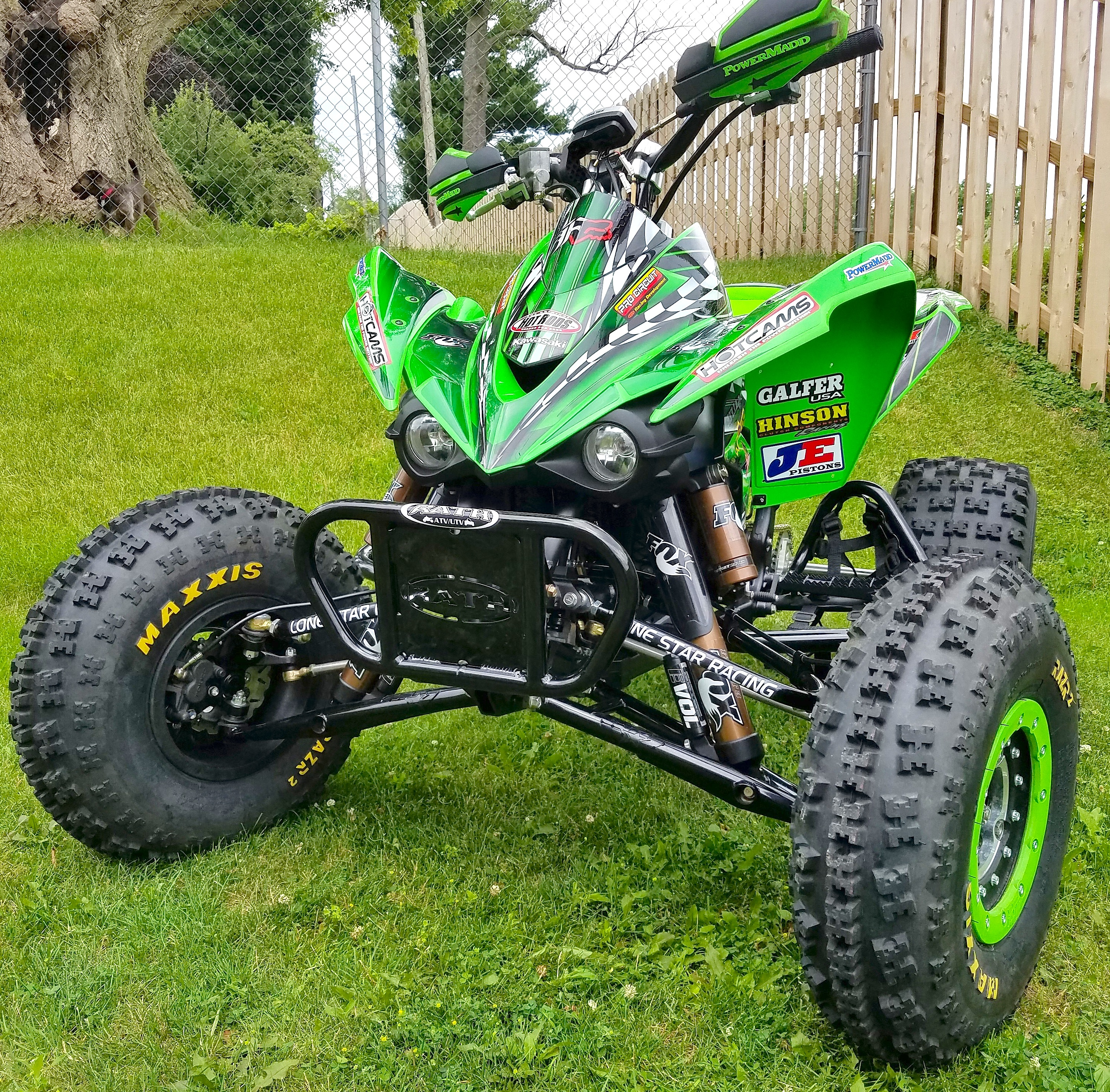 KAWASAKI KFX450 -- READER BUILD: | Dirt Wheels Magazine