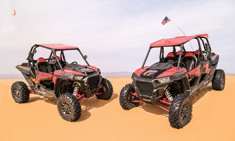 We were fortunate that for this comparison we had two new and very comparable 2017 Polaris XP Turbos for back-to-back testing.