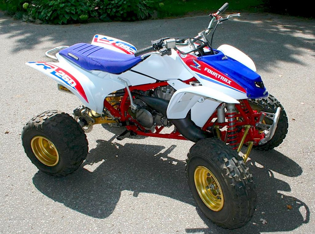 HONDA 250R MOTOR IN 450R FRAME | Dirt Wheels Magazine