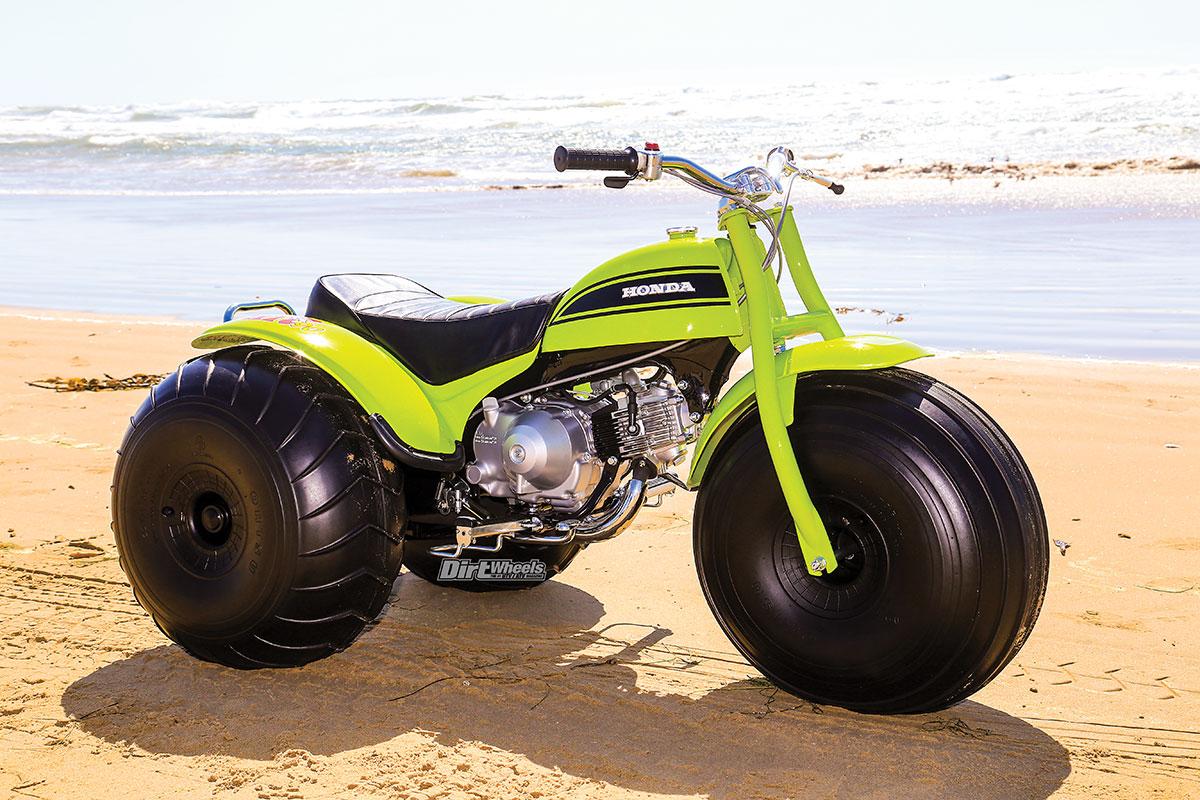 Three Wheeler Parts : The beginning end of honda wheelers dirt wheels magazine
