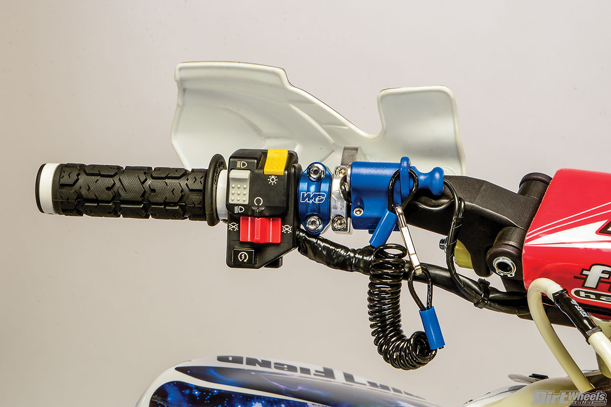 New ATV Engine Kill Switch Tether Universal Honda TRX450R TRX 450R