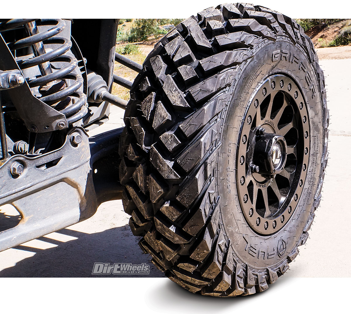 Tuesday Tread Fuel Gripper Tire Vector Beadlock Wheel Dirt Wheels Magazine