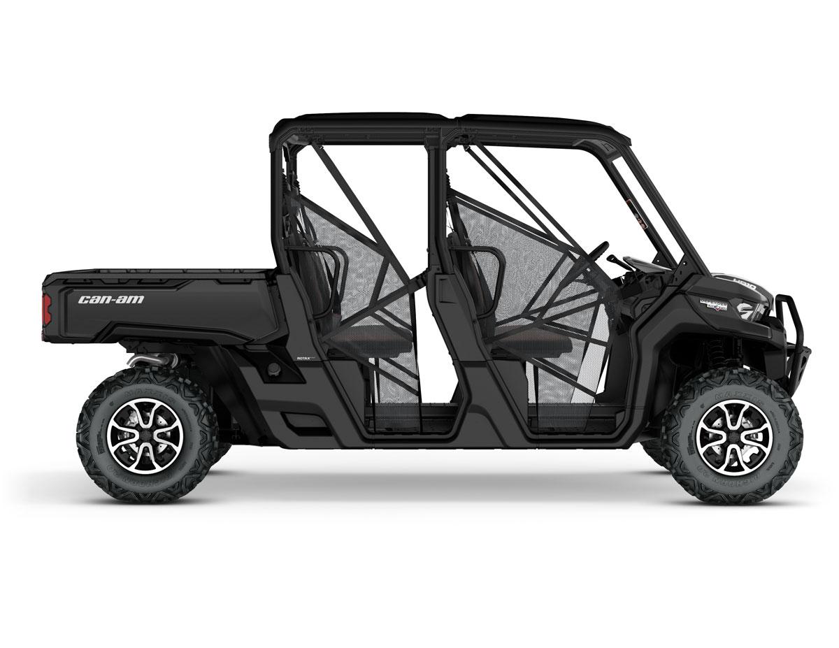 all new can am defender models dirt wheels magazine. Black Bedroom Furniture Sets. Home Design Ideas