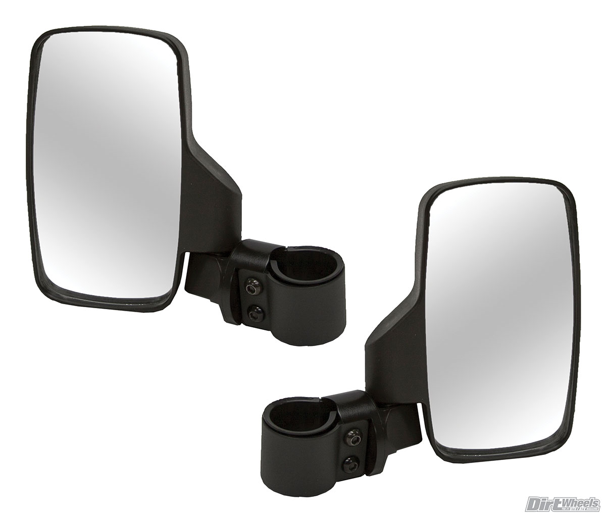 Can-Am Polaris UTV Profile Pro-Fit Roll Bar Side View Mirror Set with LED Lights