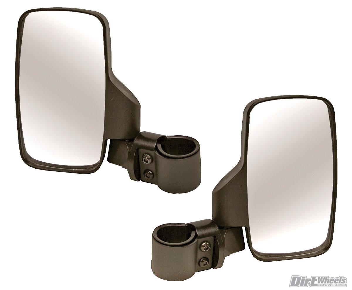 "Assault Industries UTV Stealth Series Convex Rear View Mirror Universal 1.5/"""