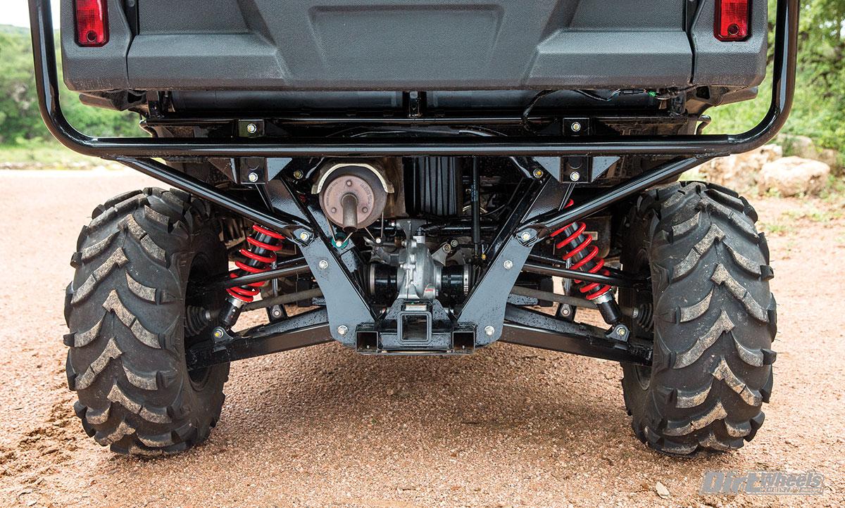 Honda Pioneer 700 4 Deluxe Test Dirt Wheels Magazine