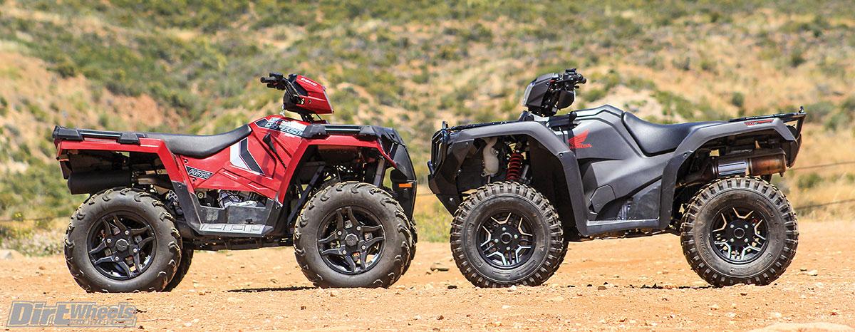 SPORTSMAN 570 vs  RUBICON 500 SHOOTOUT! | Dirt Wheels Magazine