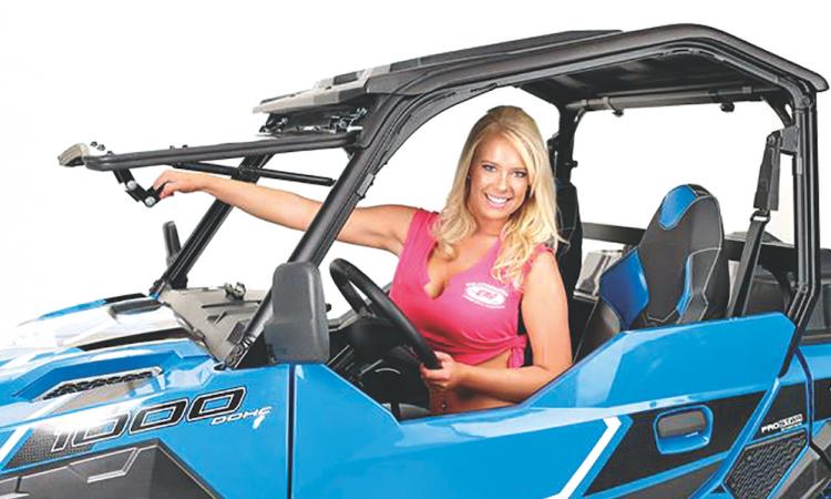 windshield girl