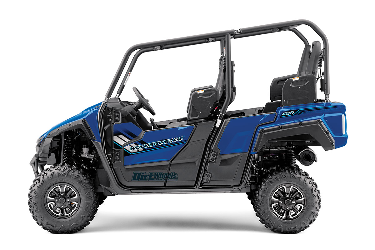This Blue Unit Is One Of The Standard Models It Has Aluminum Wheels And Over Fenders Only Base Model Steel No