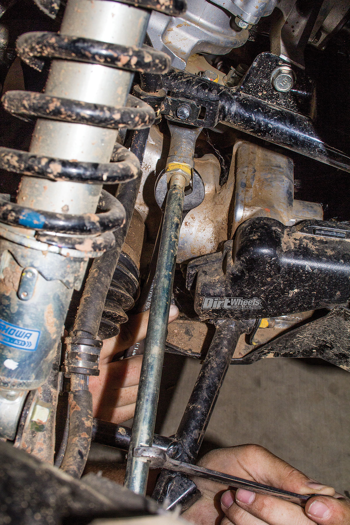 HOW-TO: ALIGN AN ATV FRONT END | Dirt Wheels Magazine