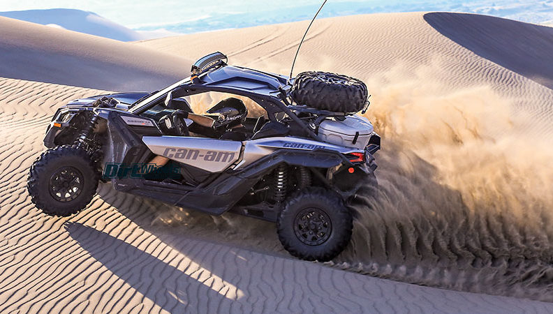 Suzuki Tire Size >> UTV TEST: 2018 CAN-AM MAVERICK X3 X RS TURBO R | Dirt Wheels Magazine