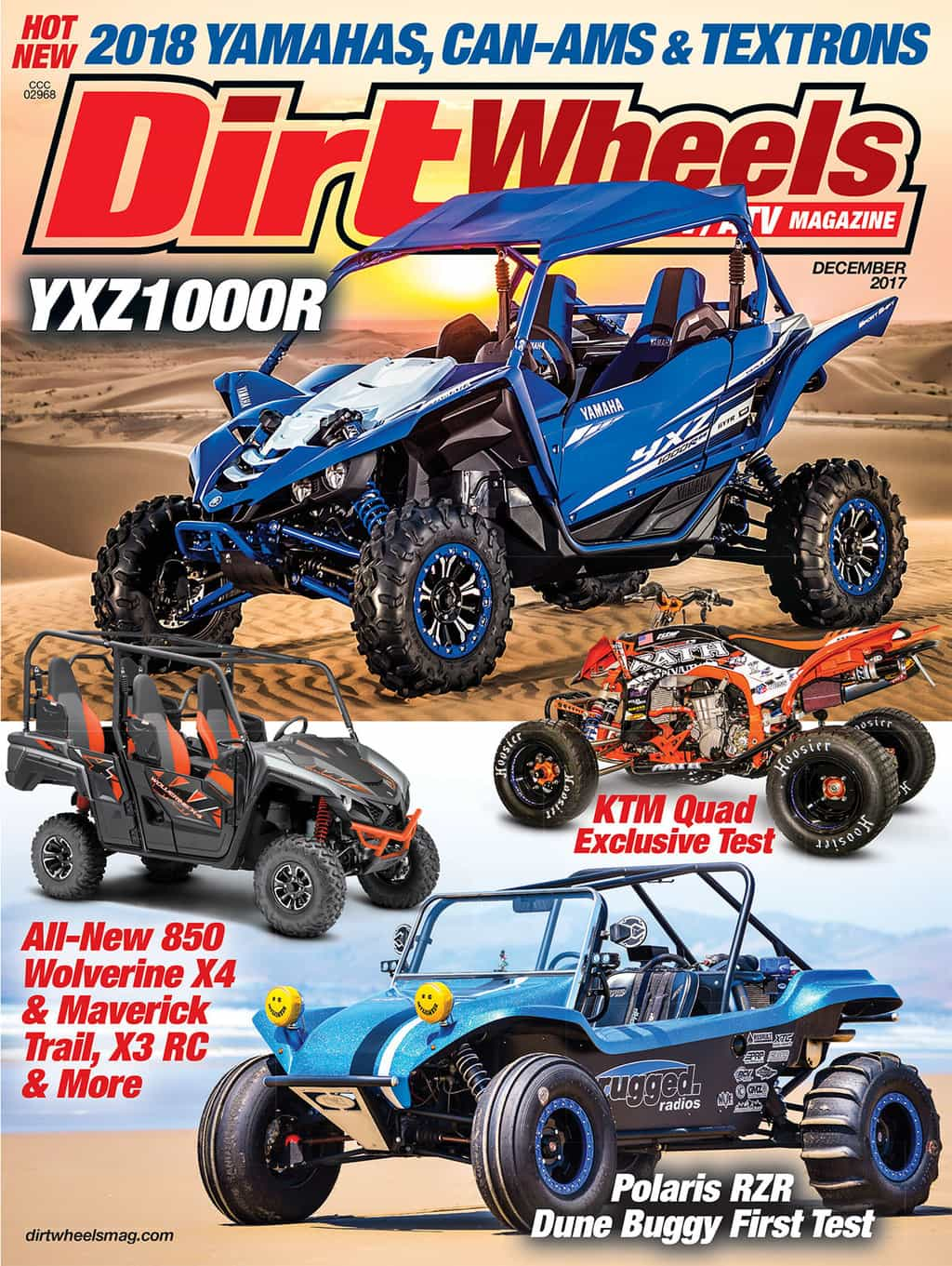 Yxz1000r Shares The Cover With A Custom Built Yamaha Ktm Quad And S All New Wolverine X4 Nostalgia Kicks In Rugged Radios Beach Buggy Rzr