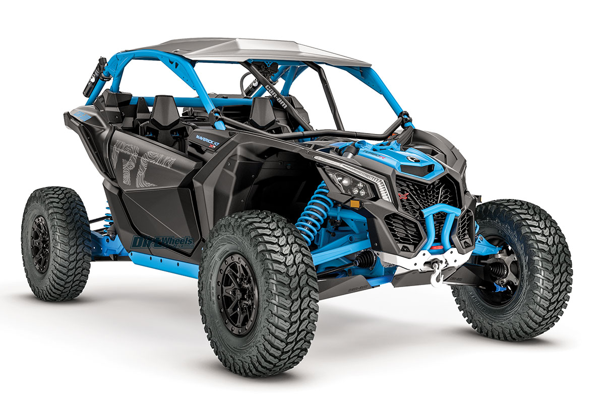 can am maverick trail x3 rc more dirt wheels magazine. Black Bedroom Furniture Sets. Home Design Ideas