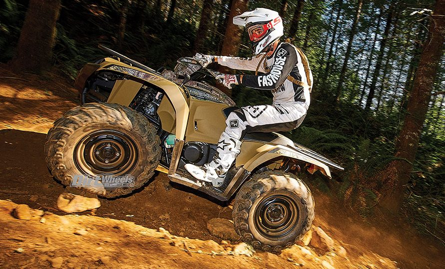 2018 Yamaha Kodiak 450 Dirt Wheels Magazine